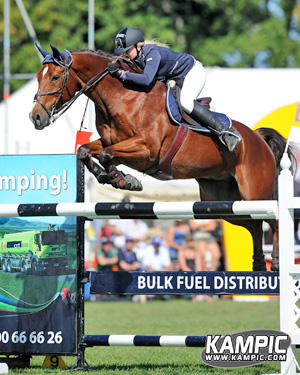 Young Australian rider Evie Buller, with Yalambi's Landor, is among the starters at February's Ride the Rhythm event in Dunedin.