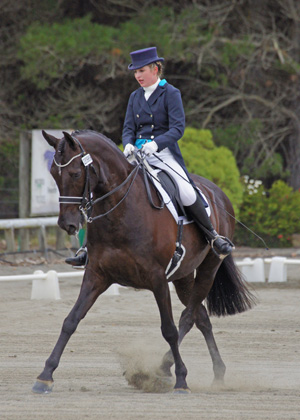 Christchurch's Siobhan Fauth and Hollywood Superstar will compete at this weekend's Bates National Championships.
