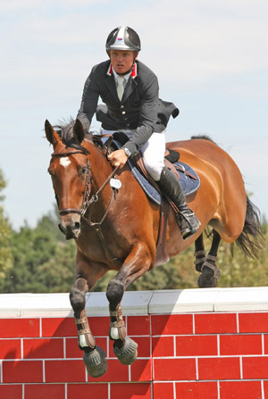 Jamie Kermond and Laughton's Legacy won the NZ One Star Championship.