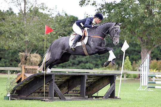 Laura Knight and Chivas Royale, winner of the  South Island Young Event Horse Championship.