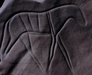 Prehistoric rock art at  Ait Waazik/ Tazarine- Zagora, valley of the River Draa, Morocco.