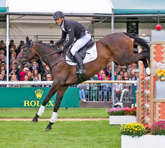 Jonathan Paget now has the Kentucky 3DE in his sights and the Rolex Grand Slam after winning Badminton and Burghley this season.