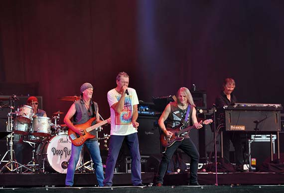 Deep Purple peform at Wacken Open Air, a heavy metal music festival staged annually in Germany in August. Photo: Jonas Rogowski/Wikipedia