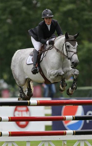 A Shockbox in action during the Spruce Meadows Summer Series 2013.
