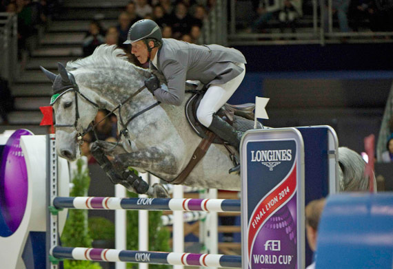 Runner-up Ludger Beerbaum and Chiara 222.
