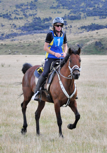 South Island 160km Champions Susie Latta and Tkiwa, from Otago. The combination is on NZ Endurance's B Squad, and a leading chance in the 2* 120km on Sunday.