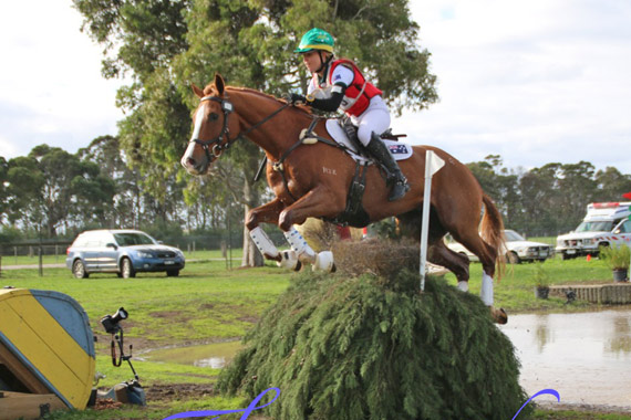CCI2* leader Gabrielle Pither and Max Almighty.
