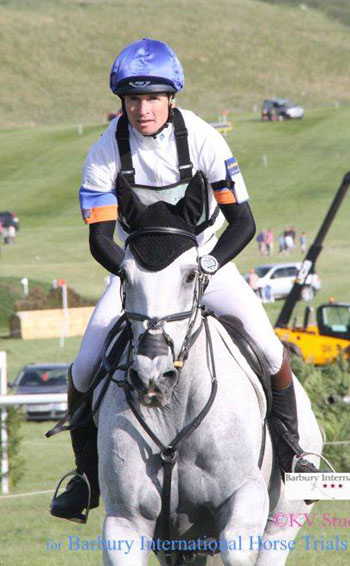 CIC3* runners-up Francis Whittington and Easy Target.