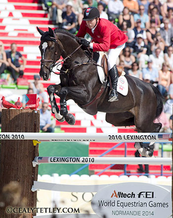 Canada's Eric Lamaze and Zigali P S.