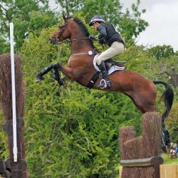 Kiwis in hot pursuit as Jung's Sam takes Burghley lead