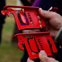 New frangible device approved for use on British cross-country courses