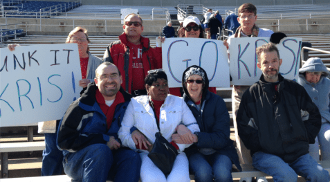 Polar Bear Plunge in support of Special Olympics