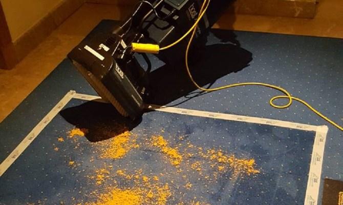 Limpieza de alfombras en seco
