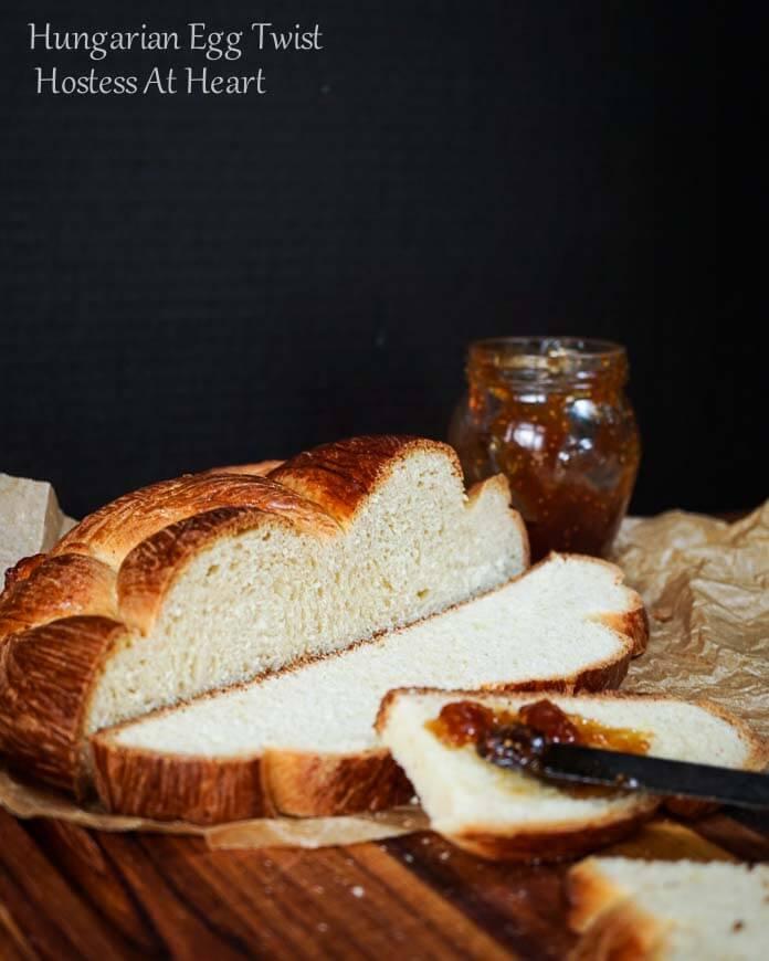 Hungarian Egg Twist - #BreadBakers