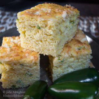 Jalapeno Cheddar Cornbread | Hostess At Heart