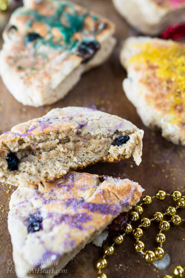 Griddle Scones are quick, easy and delicious. This is a great recipe that is strong enough to add dried fruit or chocolate chips | HostessAtHeart