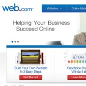 Web.com, 3 Million customers and only one site to show for it.