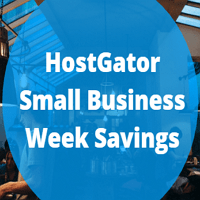 HostGator Small Business Week