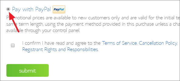 Bluehost Pay With Paypal