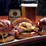 The Quest for Oktoberfest Part II: Bratwurst Sliders Recipe and 3 German Beers You'll Love!