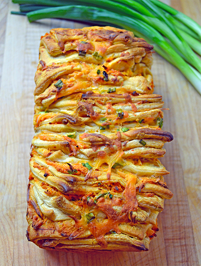 Buffalo Chicken Loaf