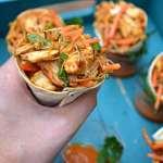 Thai Chicken Taco Cones