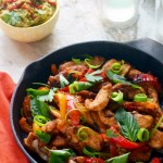 Thai Chicken Fajitas