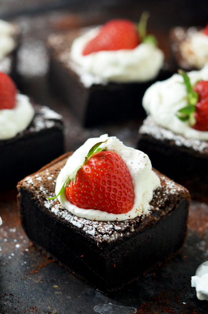 Chile-Spiked Chocolate Cakes Recipes — Dishmaps