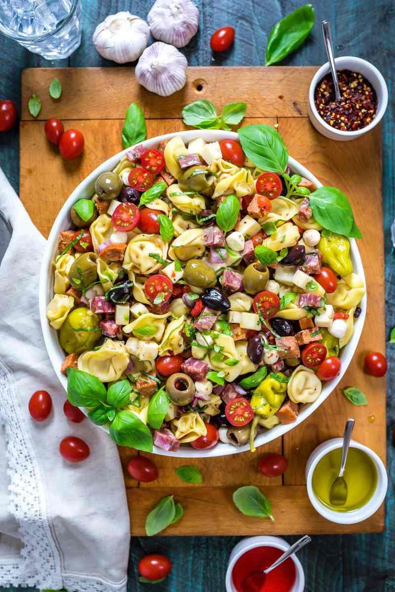 Large Of Antipasto Salad Recipe