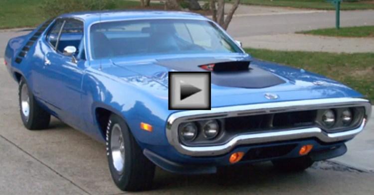 1972 plymouth roadrunner 440 autorama winner hot cars. Black Bedroom Furniture Sets. Home Design Ideas