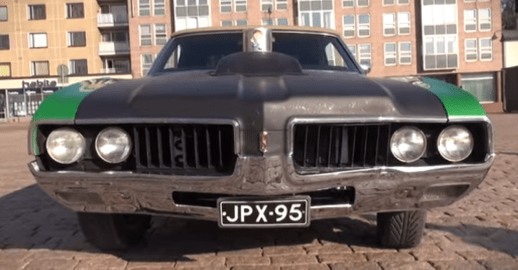 Supercharged 69 Oldsmobile Cutlass V8 American Muscle