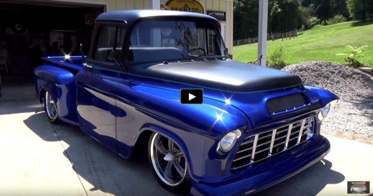 Cheap Muscle Cars For Sale >> A MUST SEE CUSTOM 1955 CHEVY PICK UP TRUCK | HOT CARS