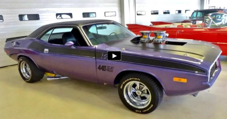 plum crazy purple 1970 dodge challenger 440 t a hot cars. Black Bedroom Furniture Sets. Home Design Ideas