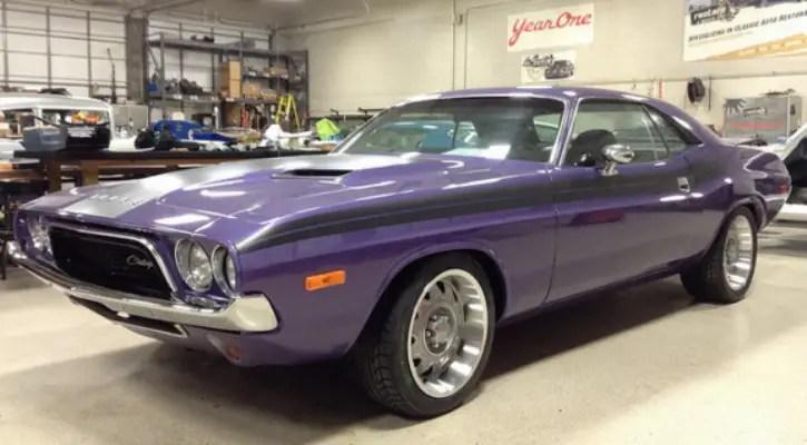 plum crazy purple 1972 dodge challenger resto. Cars Review. Best American Auto & Cars Review