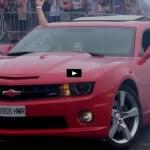 gen 5 chevrolet camaro muscle cars burnouts video
