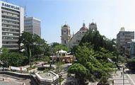 Vista del parque de San Pedro Sula
