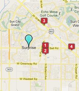 map surprise