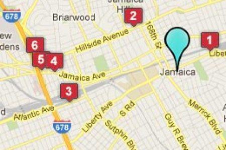 map jamaica ny hotels