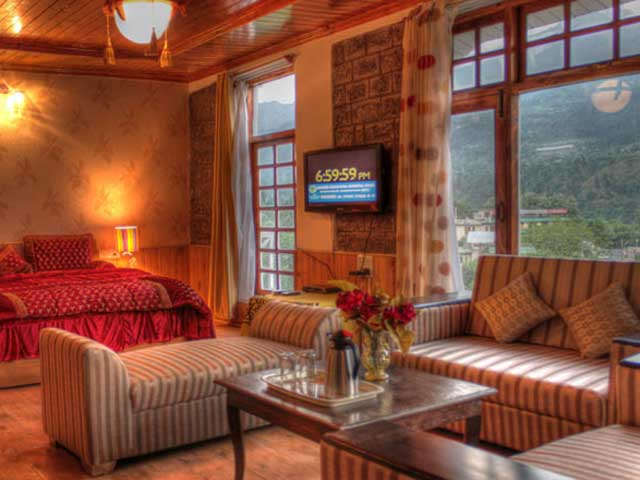 best hotel rooms in kullu manali