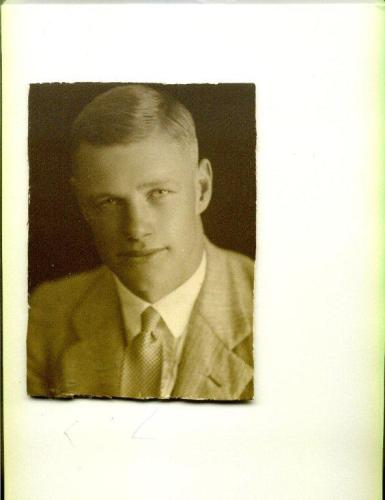 My Grandfather before the War