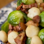Brussells Sprouts with Bacon and Home Science