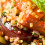 Roasted Vegetable and Barley Risotto and Healthy Days