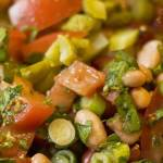 Mixed Bean Salad and The Dinner Party