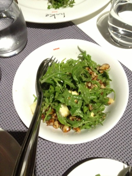 Pear, Rocket and Blue Cheese Salad