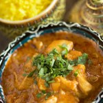 Chicken Curry with a Rice Pilaf