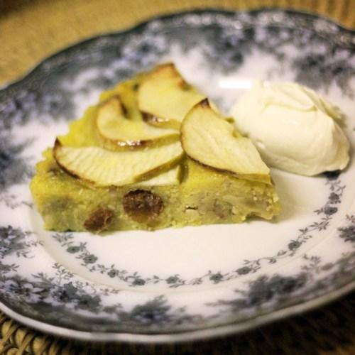 Serve with cream, ice cream, custard or fresh fruit