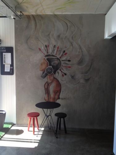 Groovy mural