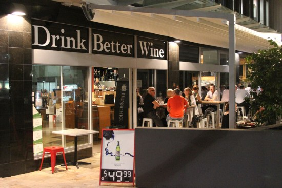 'Drink Better Wine', North Sydney Cellars