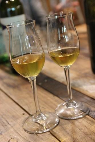 Sticky wines